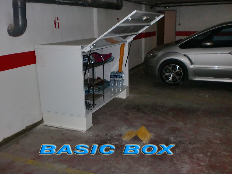 Basic box armario trastero para garaje - Armarios para garaje ...