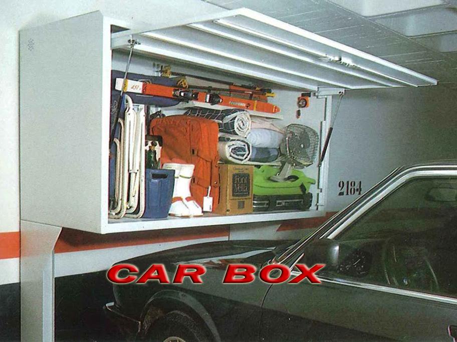 Car box armario trastero para garaje - Armario para garaje ...